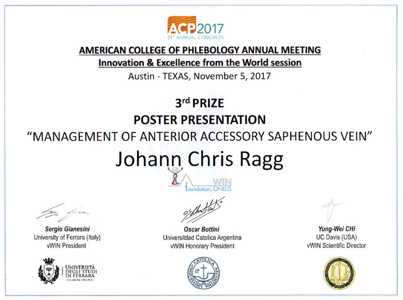 ACP Presentation and Poster Prize Austin 2017