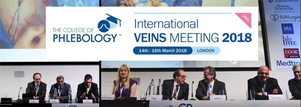 Dr. Ragg London 2018 International Veins Meeting
